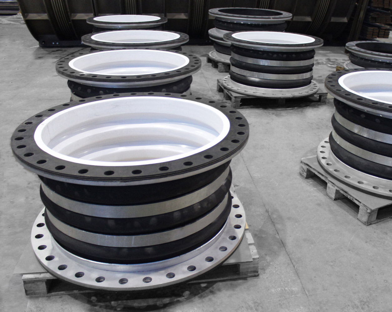 PTFE lined expansion joint example 2