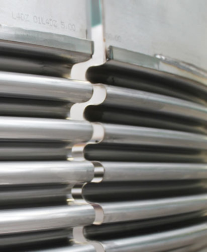 clamshell type expansion joint example 4