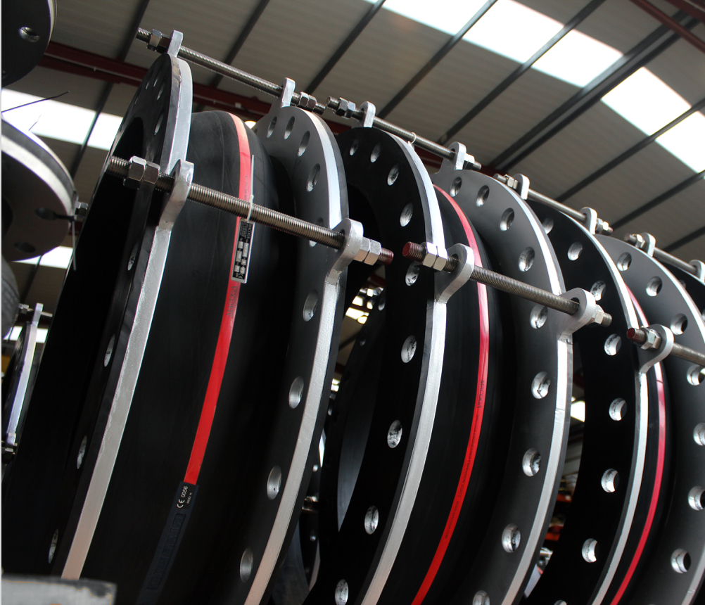 Metal expansion joint - Thick Wall Flanged and Flued