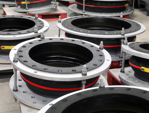 Metal expansion joint - District cooling