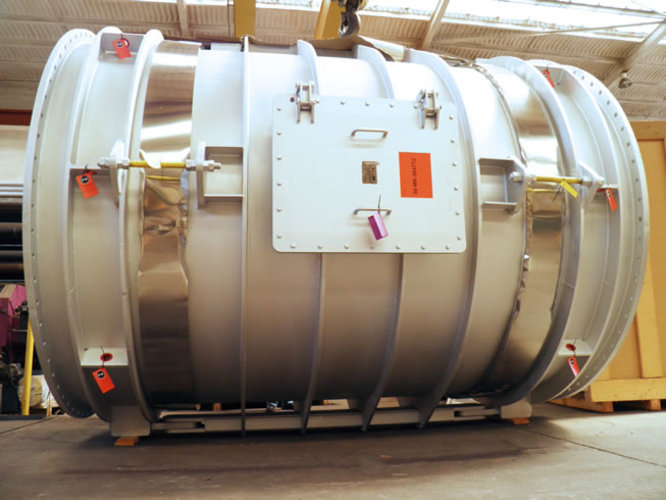 double hinged expansion joint example 1