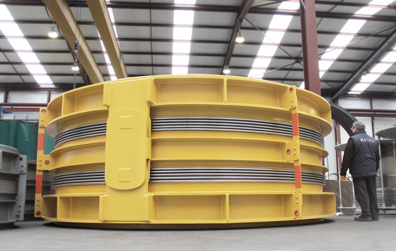 double hinged expansion joint example 10