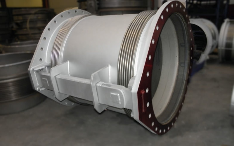 double hinged expansion joint example 2