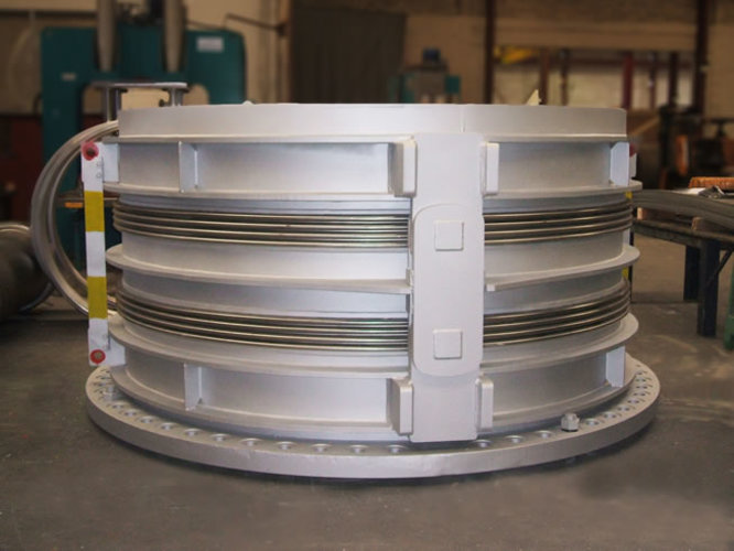 double hinged expansion joint example 3