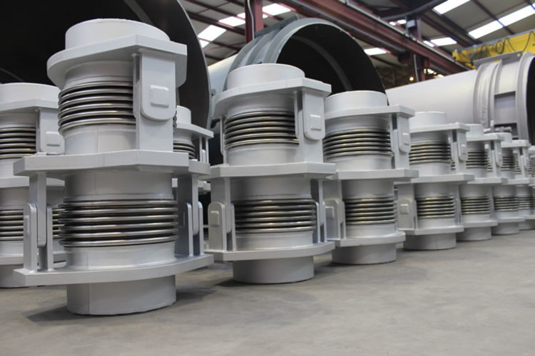 double hinged expansion joint example 5