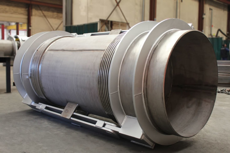 double hinged expansion joint example 7
