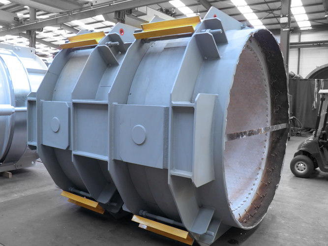 double hinged expansion joint example 9
