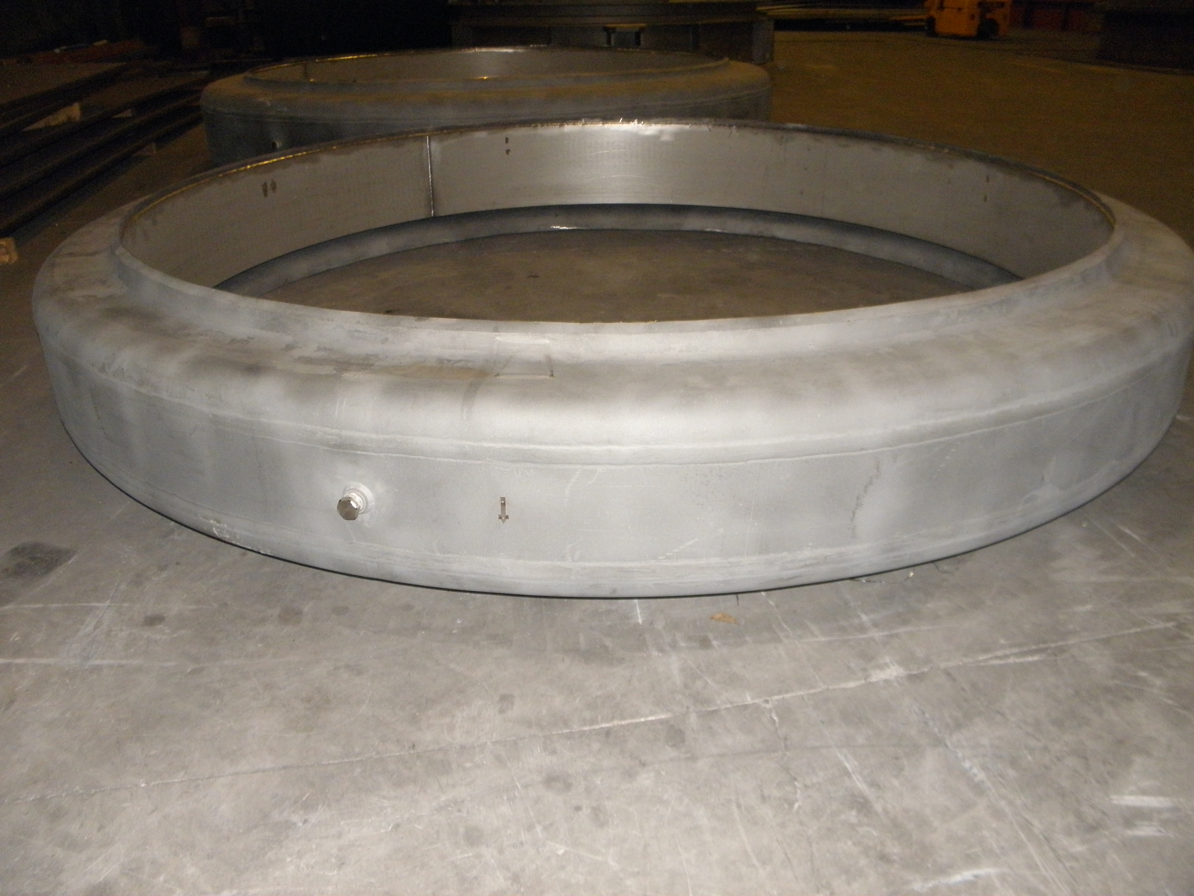 Flanged and flued example 3