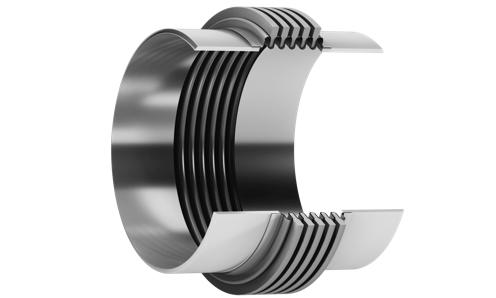 Metal expansion joint - Reinforced MRR