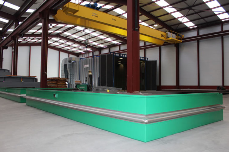 Rectangular expansion joint example 4