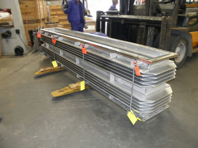 Rectangular expansion joint example 5