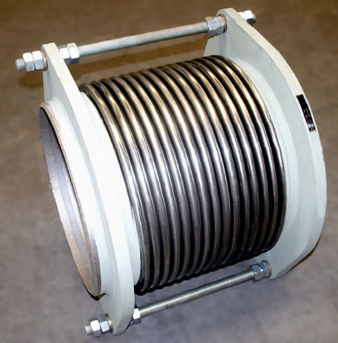 Axial tied expansion joint example 2