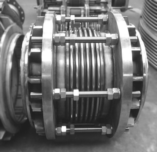 Axial tied expansion joint example 3
