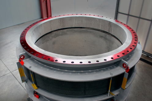 Expansion Joints for the steel-plants Industry