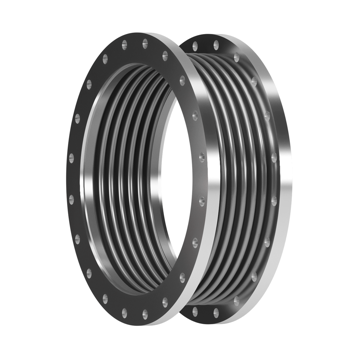 This type of Expansion Joint is made up of one single bellows equipped with fixed flanges.