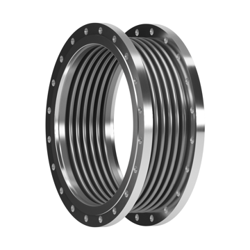 This type of Expansion Joint is made up of one single bellows equipped with floating flanges.