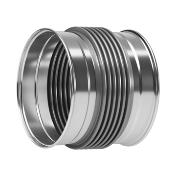 Quick Press MQP Type Metal Expansion Joints for HVAC (Heating, Ventilating & Air Conditioning) systems.