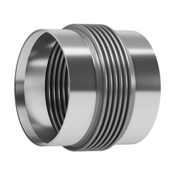 This type of Expansion Joint is made up of one single bellows fitted with internal BSP or NPT threads.