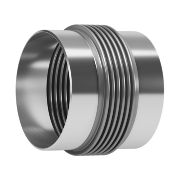 This type of Expansion Joint is made up of one single bellows provided with welding ends.
