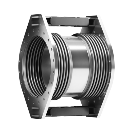 Double Articulated expansion joint with welding ends.
