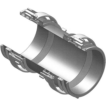 Compensador doble gimbal con bridas o con extremos para soldar