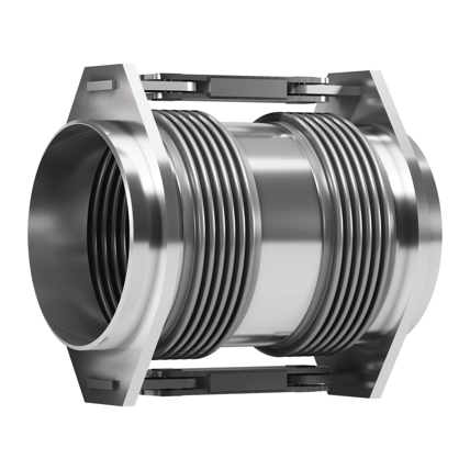 Double Hinged expansion joint with welding ends.