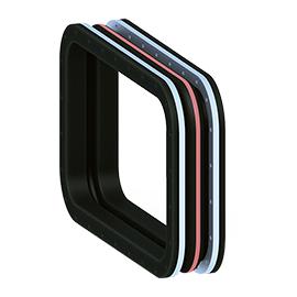 Los compensadores de goma MACOGA se pueden fabricar en forma cuadrada o rectangular y en cualquier dimensión. También se pueden fabricar con o sin onda y con un diseño de onda múltiple para absorber mayores movimientos.