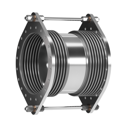 Universal Lateral Tied Expansion Joint with flanged ends.
