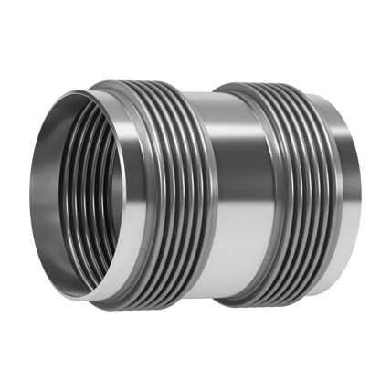 This type of Expansion Joint is made up of two bellows joined together by a central pipe provided with welding ends.