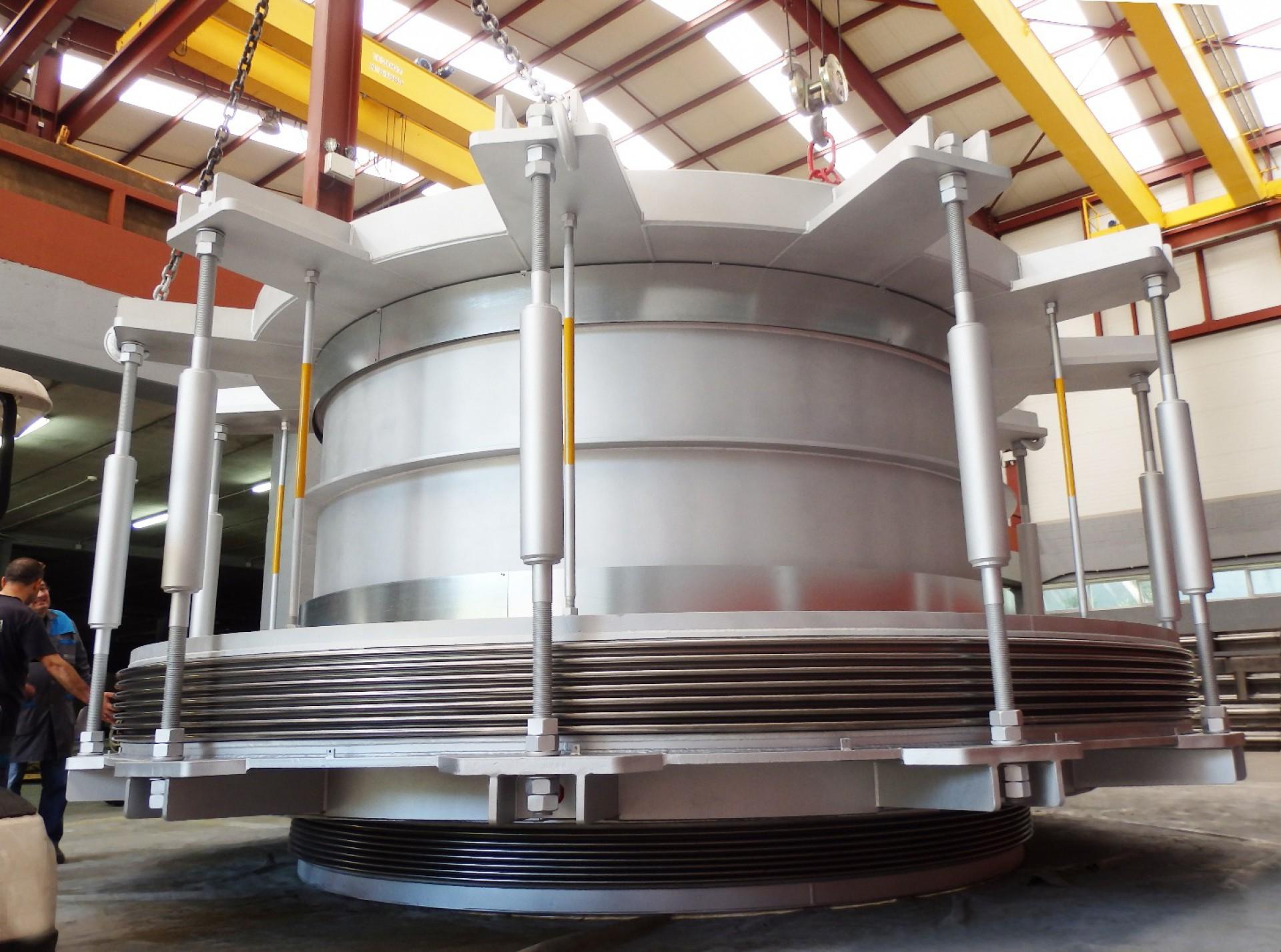 Large Inline Pressure Balanced for Ivory Coast power plant