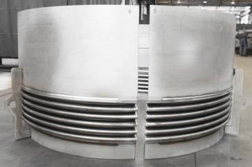Clamshell para reparación de emergencia en refinería