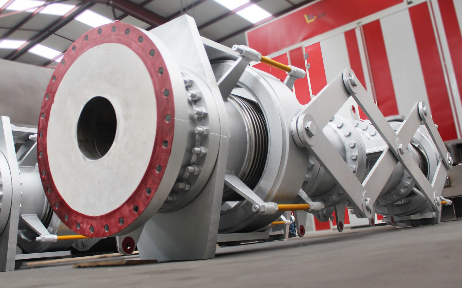 Double Gimbal Refractory Lined Pantographic Expansion Joint
