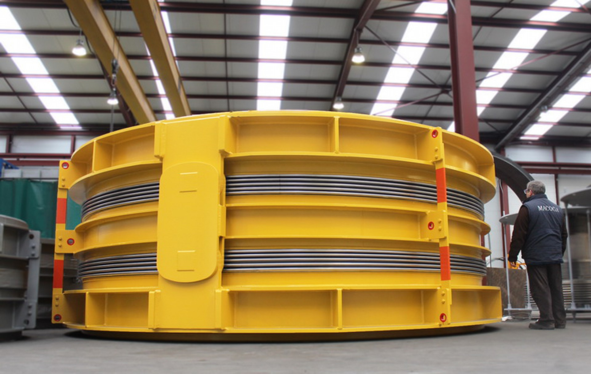Double Hinged for Ain Arnat Power Plant