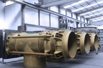Juntas autocompensadas en codo DN 1400 para la planta geotérmica Maren GEX 2500 - 25MW en Turquía