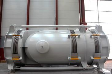 Autocompensada en codo para la planta waste to energy de Beddington