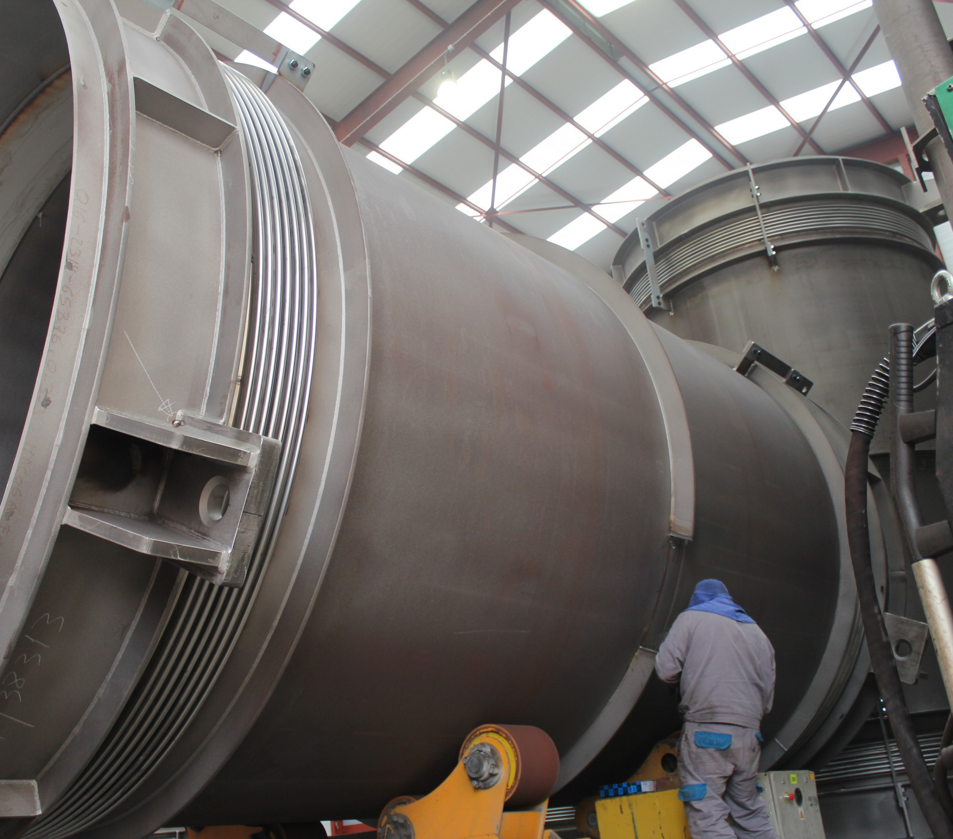 Expansion Joints for Assiut and West Damietta power plants in Egypt
