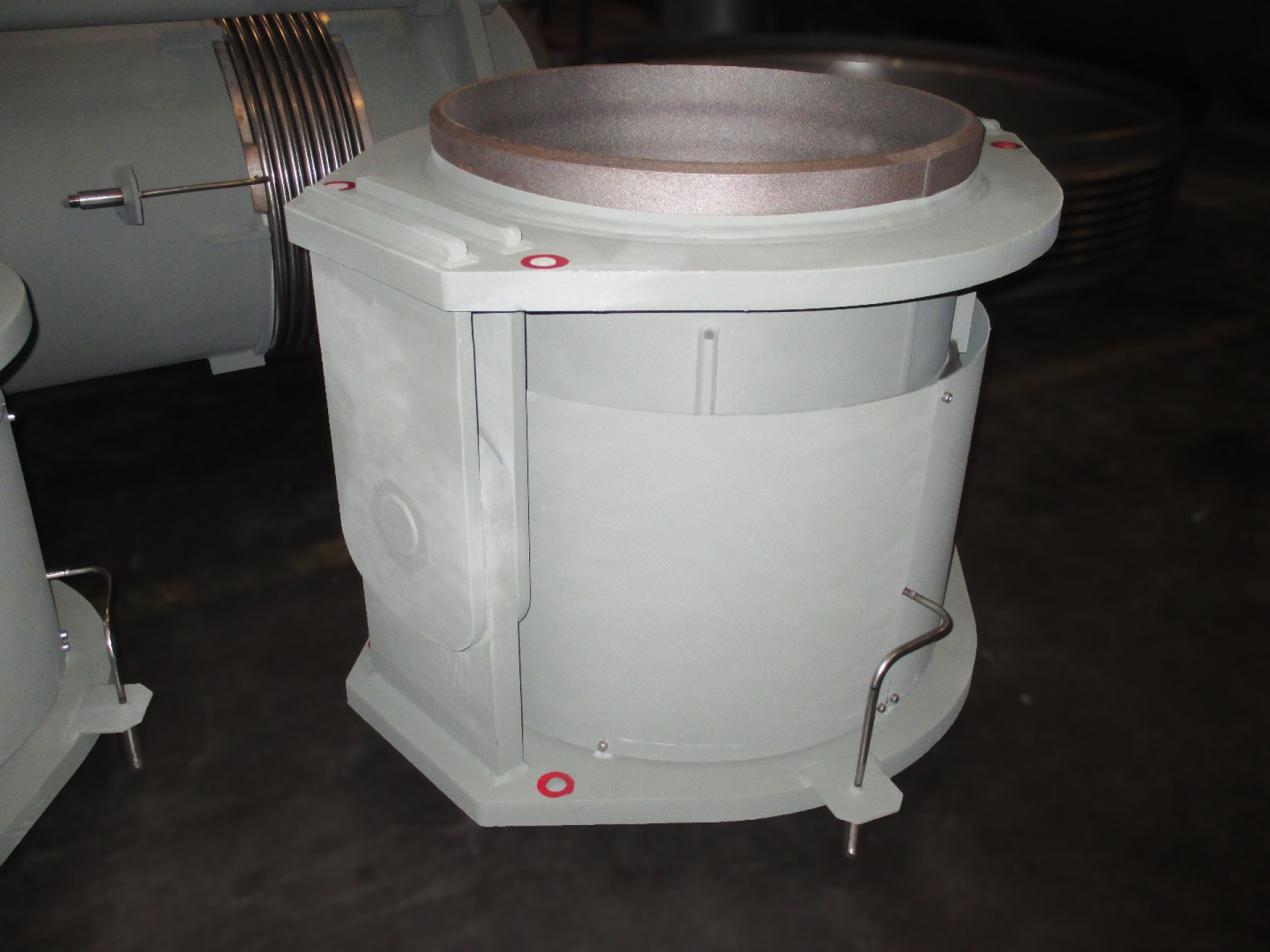 Two ply testable and monitored bellows expansion joint