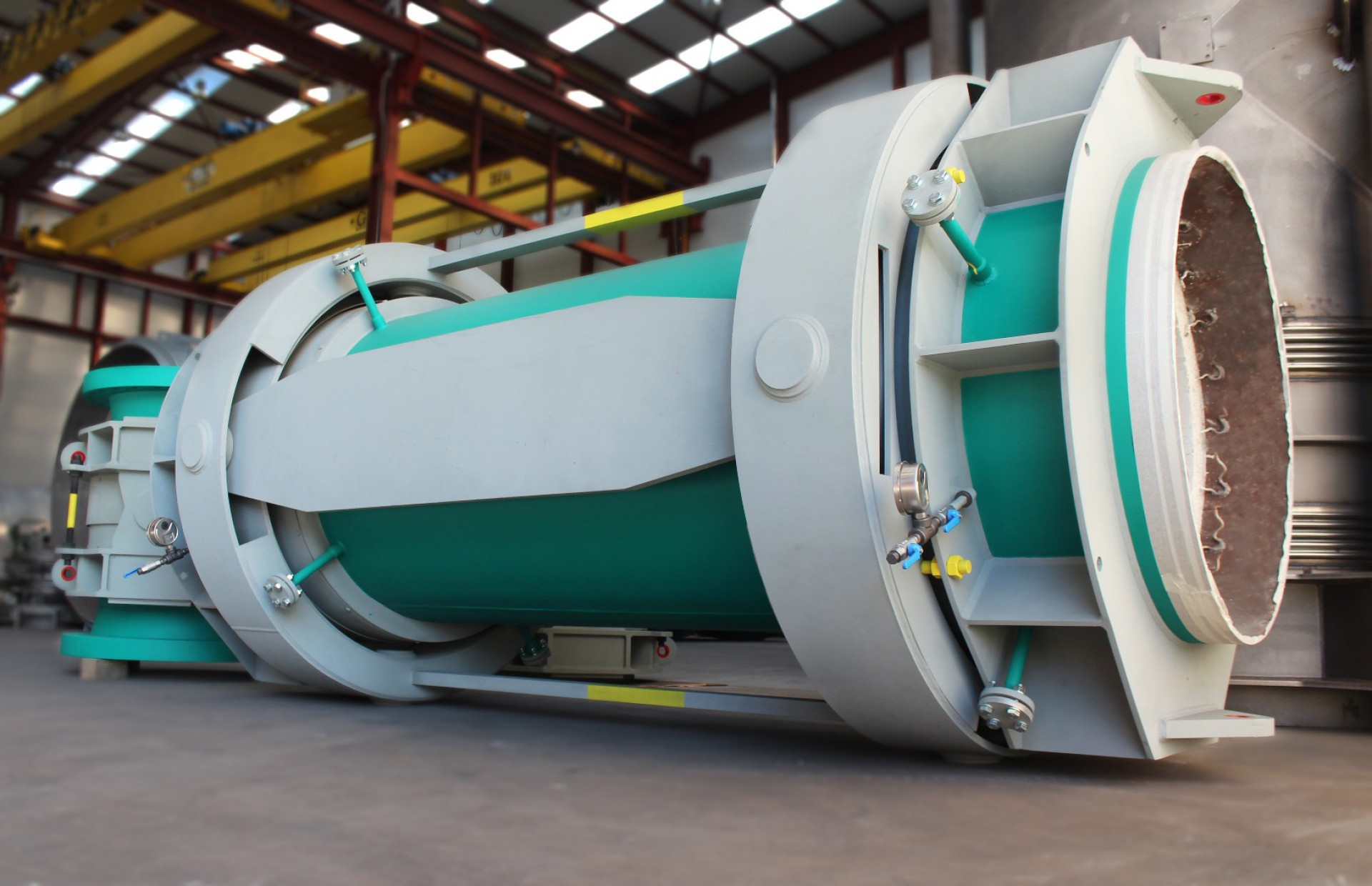 FCCU Expansion Joint for north european refinery