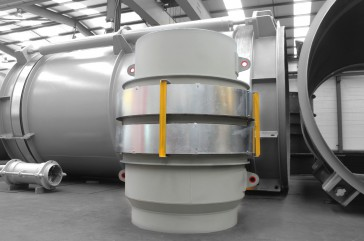 Reactor FCCU expansion Joint for Qatar Petroleum