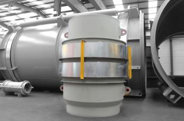 Reactor FCCU expansion Joint for Qatar Petroleum