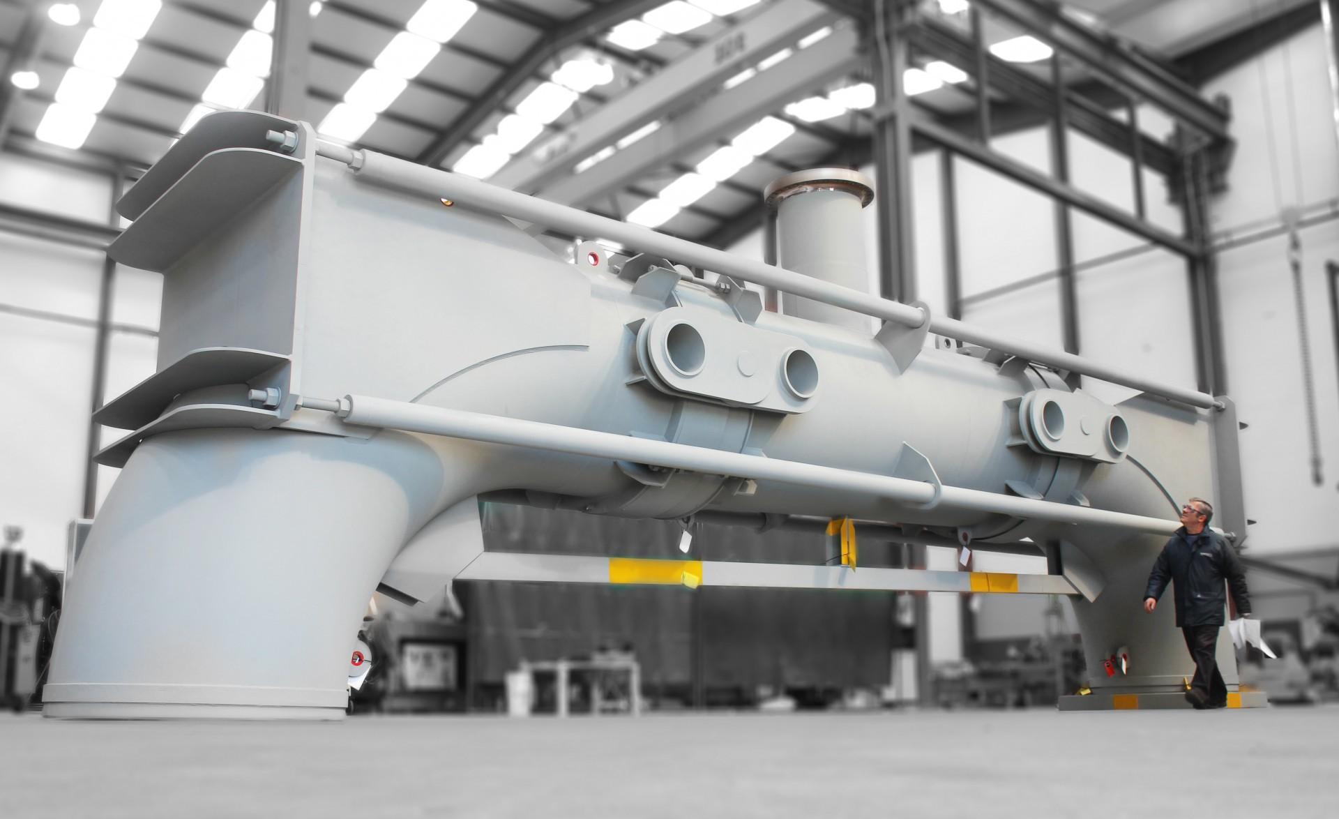 Junta de expansión FCCU Regenerator Overhead Flue Gas
