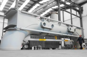 FCCU Regenerator Overhead Flue Gas Expansion Joint