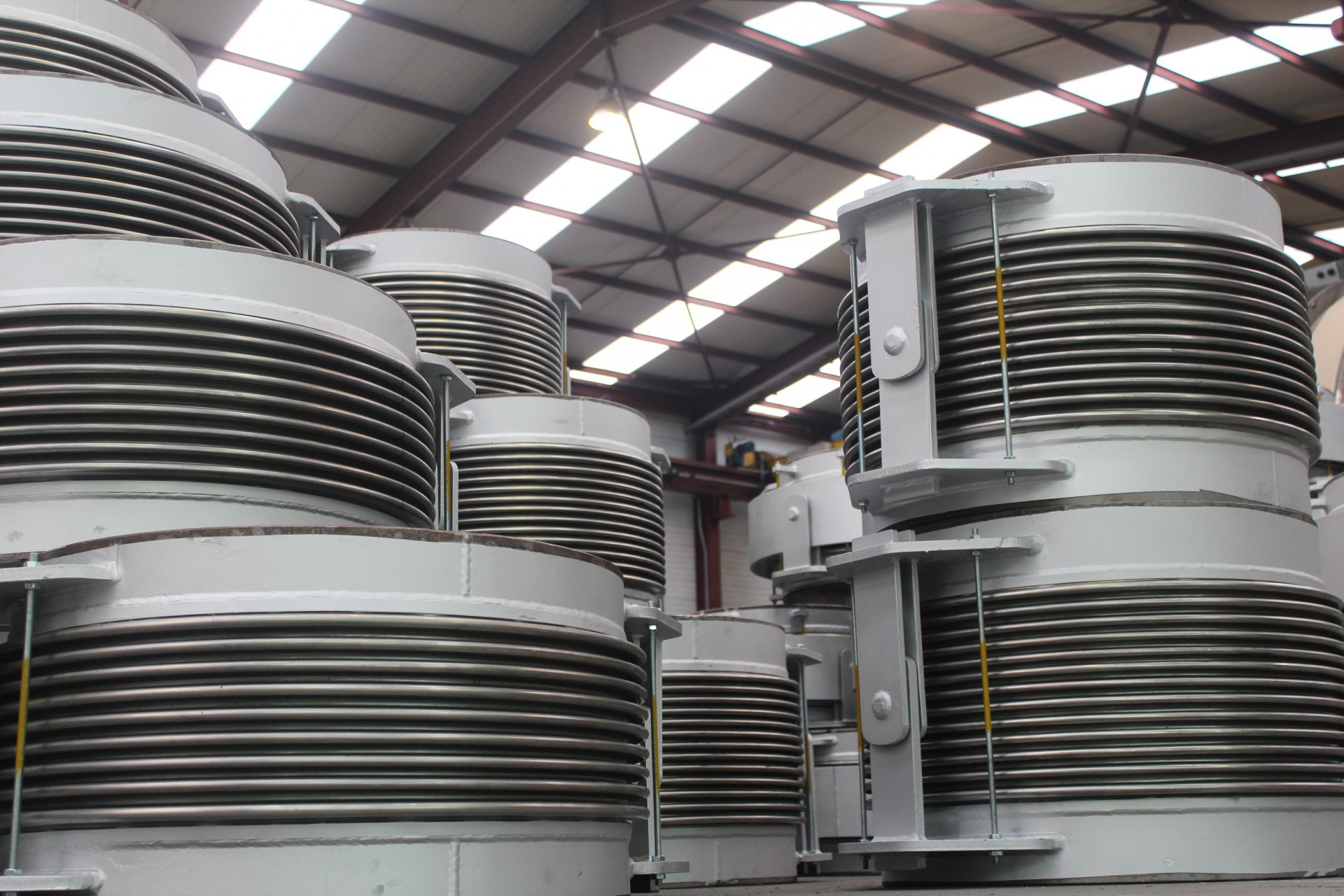 Gimbal and Hinged Expansion Joints for Aghios Dimitrios Power Plant