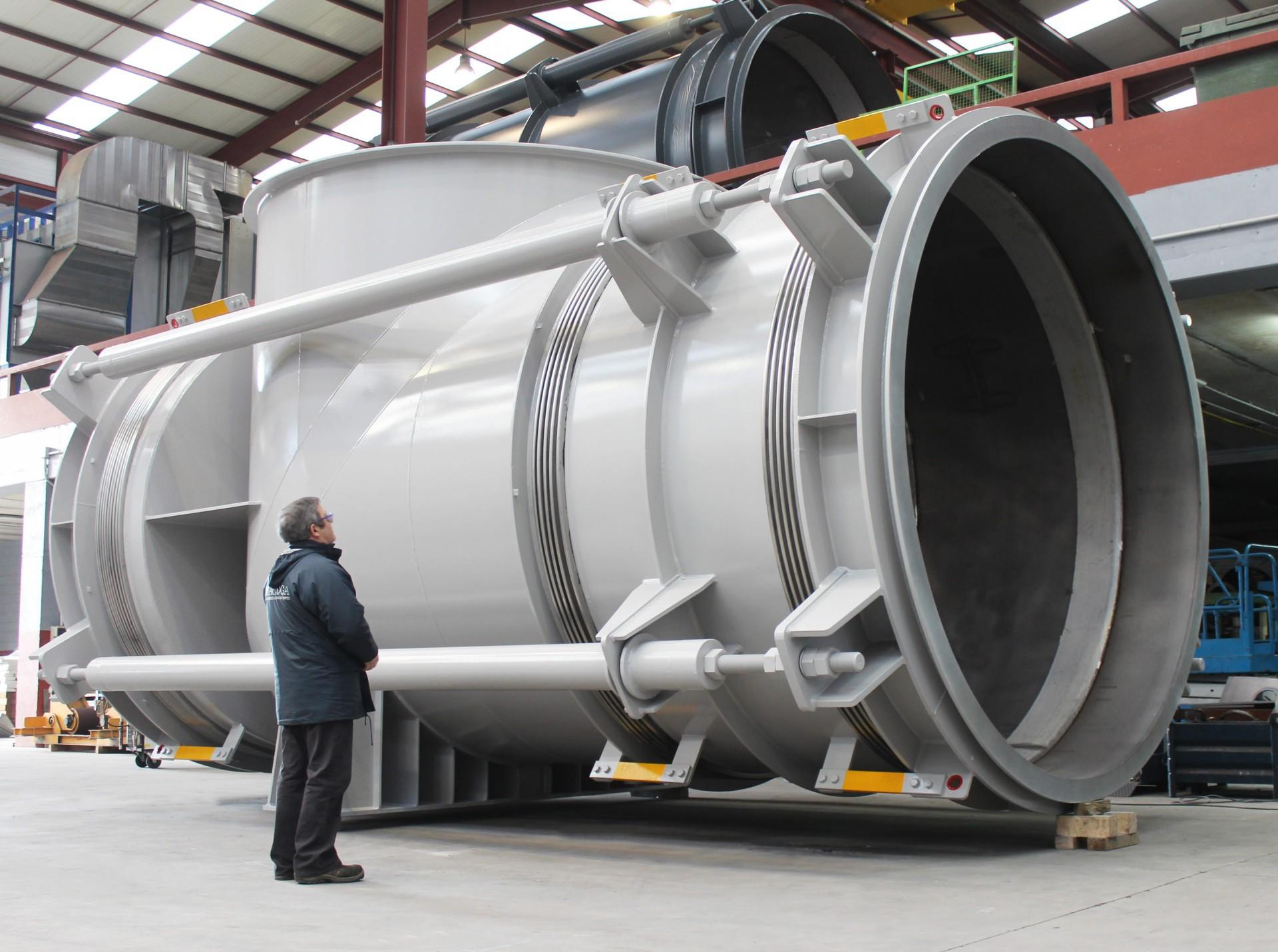 Autocompensada en codo de gran tamaño para la planta de biomasa en Cramlington, UK