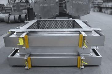 Juntas rectangulares MACOGA MRU para refinería ESSO