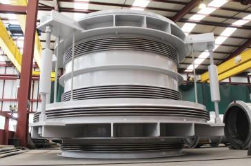 Pressure Balanced DN2400 - Power Plant in Martinique