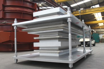 In-Line Pressure Balanced Rectangular Expansion Joint