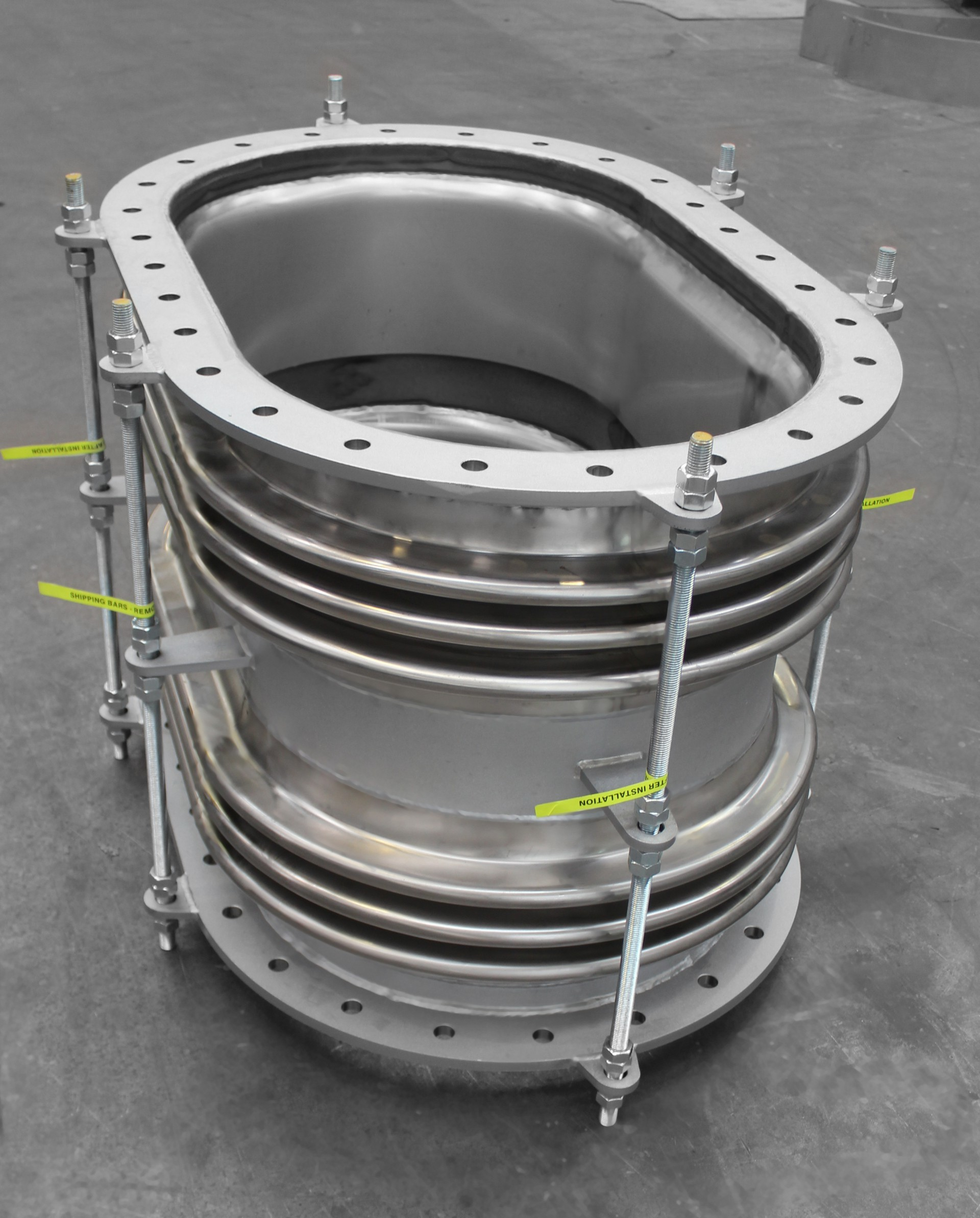 Special custom made expansion joint