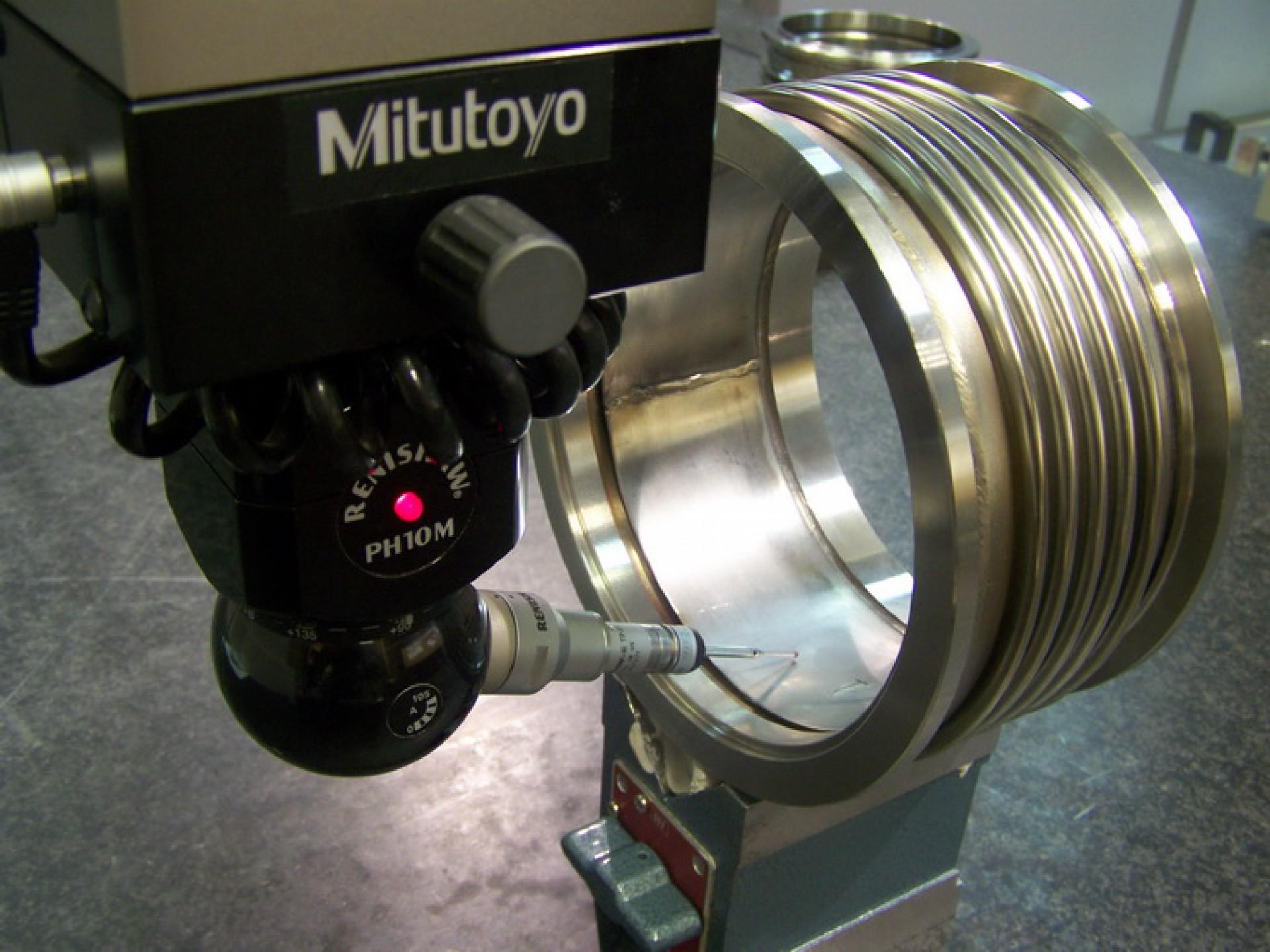 Control dimensional. Fuelles para motores diesel MITSUBISHI