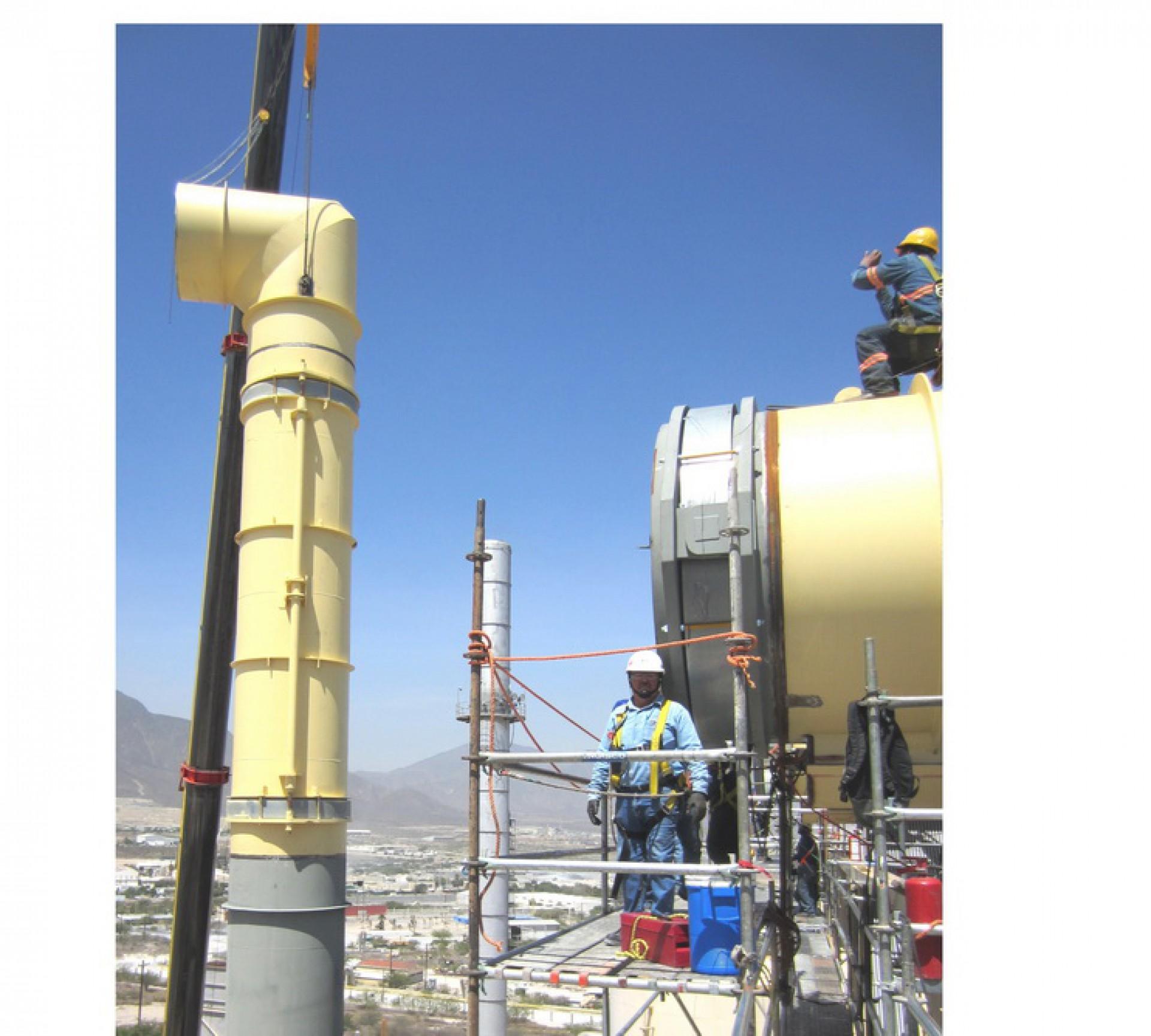 Lateral y Hinged DN 2100 – Monterrey, Mexico